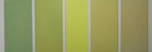 e 16-lagig mit Ober- und Untertönen 2008 Acyrl auf Baumwolle 5-teilig 100x50x50x40x50x50 cm